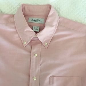 Brooks Brothers Pink Oxford Shirt Size 16.5 / 33